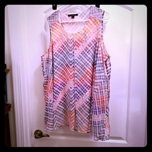 Plus size dress blouse tunic size 1X